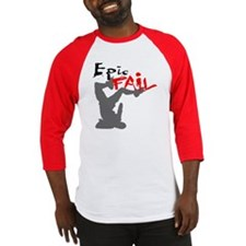 Epic Fail Type 1 On Light Baseball Jersey