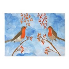 Robin Singing Competition 5'x7'Area Rug