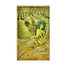 Vintage_Chick La Fee Vert Decal