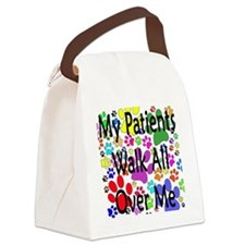 My Patients Walk All Over Me (Vet Canvas Lunch Bag