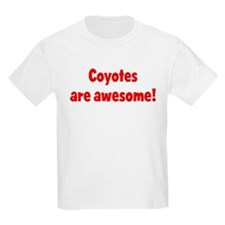 Coyotes are awesome Kids T-Shirt