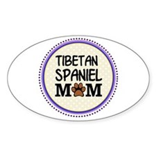 Tibetan Spaniel Dog Mom Decal