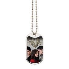 Love Triangle Poster Dog Tags