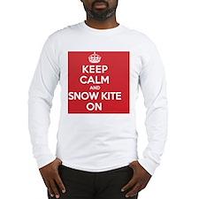 Keep Calm Snow Kite Long Sleeve T-Shirt