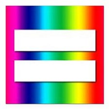 "EQUALITY Square Car Magnet 3"" x 3"""