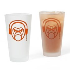 DJ Monk Drinking Glass