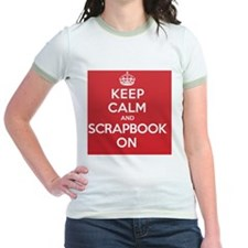 Keep Calm Scrapbook T