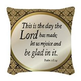 Christian Woven Pillows
