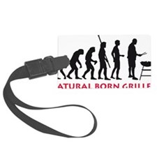 natural born griller Luggage Tag