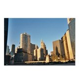 Cute Wrigley building Postcards (Package of 8)