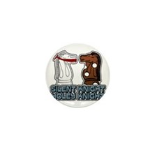 Silent Knight Mini Button