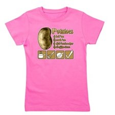 Potatoes Girl's Tee