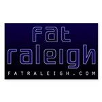 Fat Raleigh Sticker