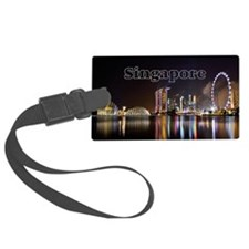 Singapore_2x3_magnet_Skyline Luggage Tag