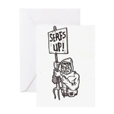 Serfs Up!  Greeting Card