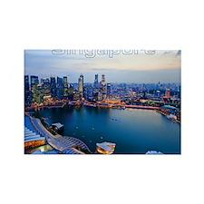 Singapore_4.25x5.5_NoteCards_Skyl Rectangle Magnet