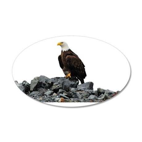 Tote7x7_Eagle_3 35x21 Oval Wall Decal