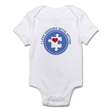 Someone With Autism Infant Bodysuit