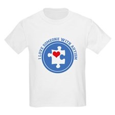 Someone With Autism Kids T-Shirt
