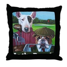 In the Rough Mug Throw Pillow