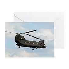 Tote7x7_Chinook_4 Greeting Card