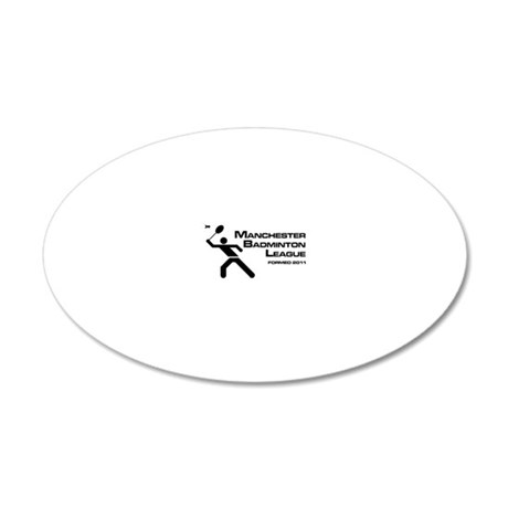 MBL 20x12 Oval Wall Decal