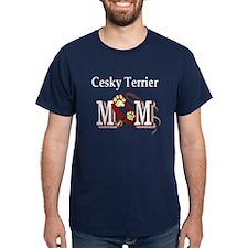 Cesky Terrier Mom T-Shirt