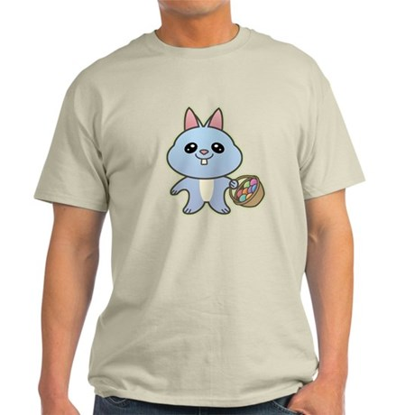 Blue Easter Bunny Light T-Shirt