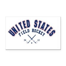 United states field hockey Rectangle Car Magnet