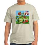 Strawberry Puzzle Light T-Shirt