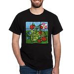 Strawberry Puzzle Dark T-Shirt