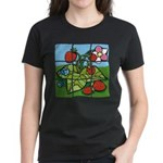 Strawberry Puzzle Women's Dark T-Shirt