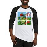 Strawberry Puzzle Baseball Jersey