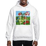Strawberry Puzzle Hooded Sweatshirt