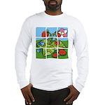 Strawberry Puzzle Long Sleeve T-Shirt