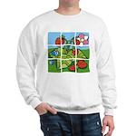 Strawberry Puzzle Sweatshirt