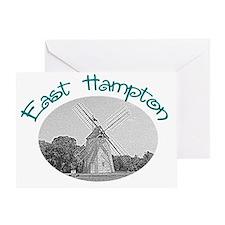 East Hampton Windmill Greeting Card