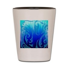 Blue Moko Jandal Shot Glass