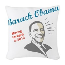 Moving forward in 2012 Woven Throw Pillow
