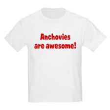 Anchovies are awesome Kids T-Shirt