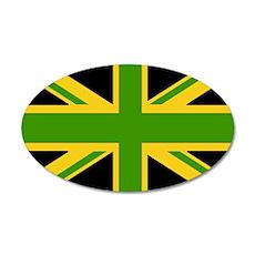 jamaicanUJ 35x21 Oval Wall Decal