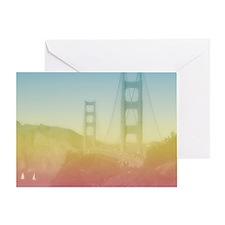 Dreamy Golden Gate Bridge Greeting Card
