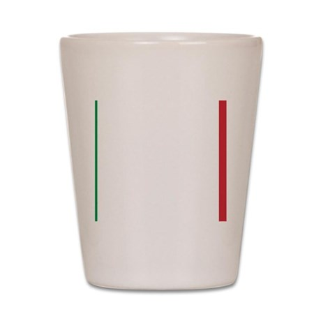 Italy/Italia Flag Shot Glass
