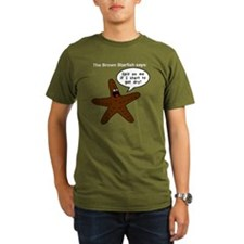 Brown Starfish T-Shirt