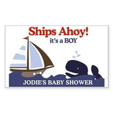 Jodies Baby Shower Yard Sign Decal