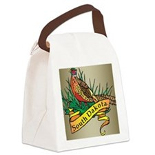 South Dakota Pheasant Canvas Lunch Bag