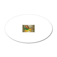 South Dakota Pheasant 20x12 Oval Wall Decal