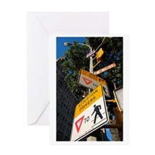 Street Signs Greeting Card