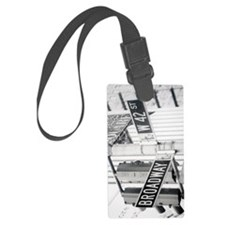 New York - Broadway Times Square Luggage Tag