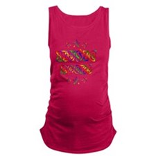 Music Rocks Maternity Tank Top